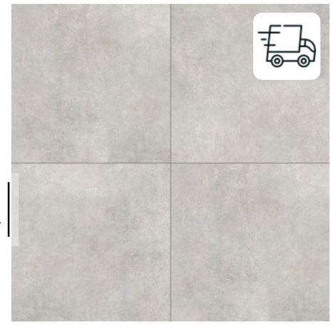 Płytki imitujące beton Grey Wind light mat 60x60
