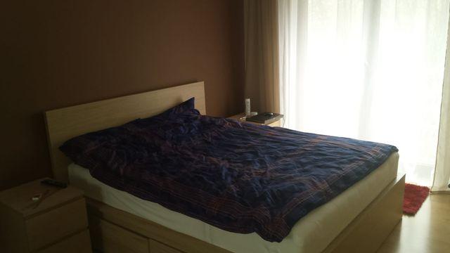 Łóżko sypialniane Malma z Ikea
