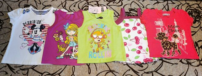 Майка футболка девочке 98-104