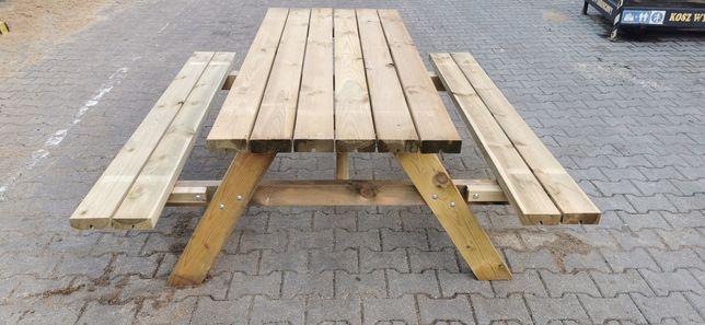 Stół drewniany ogrodowy impregnowany sosnowy,(dost.gratis trójmiasto)*
