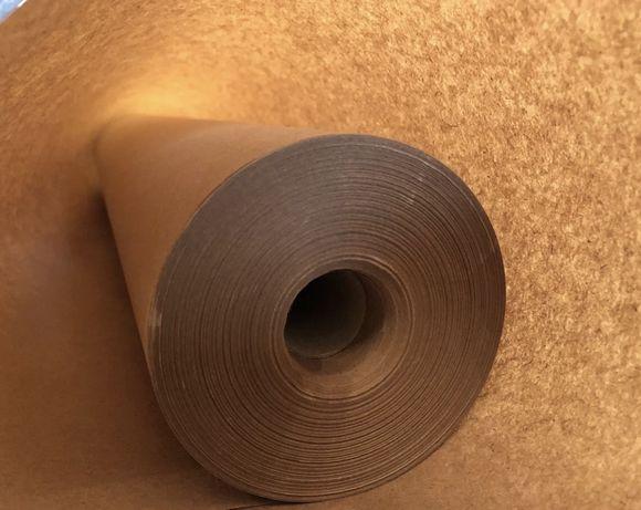 Крафт бумага тонкая оберточная упаковочная в рулоне. НЕДОРОГО