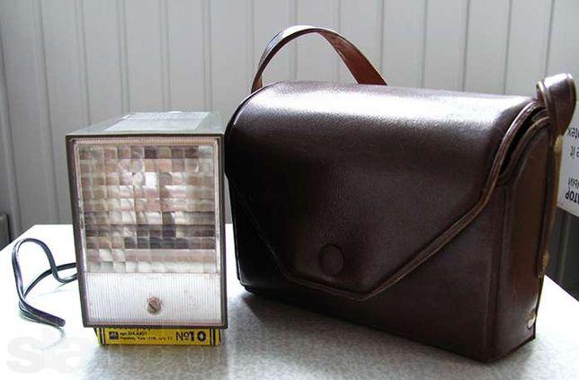 Сетевая фотовспышка ФОТОН + сумка - Сделано в СССР
