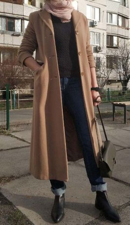 Бежевое пальто camel coat/кемел/кэмел от marks & spencer