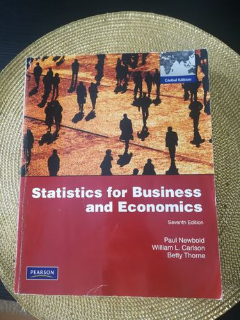 Statistics for Business and Economics 7th edition