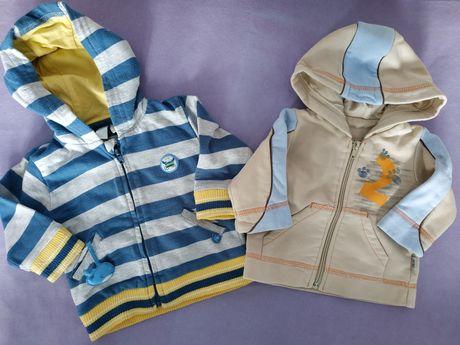 Dwie bluzy dla chłopca, rozmiar 68
