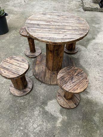 Mesas esplanada paletes