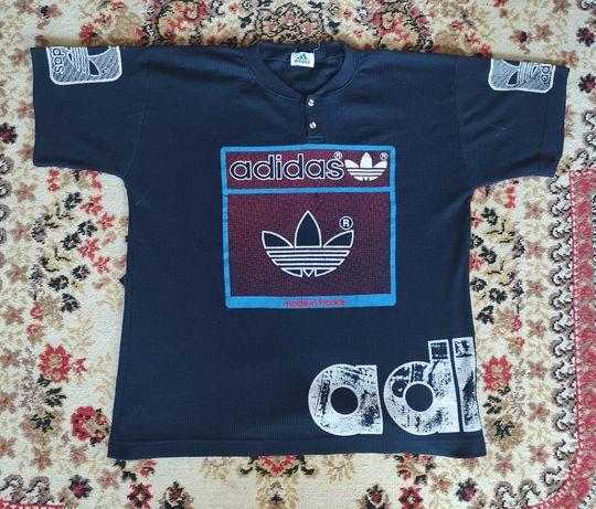 раритетная скейтерская винтажная футболка от adidas