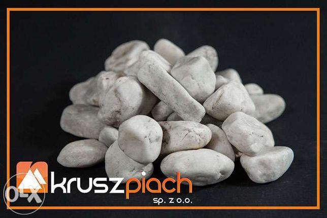Żwir Kwarcowy Biały od 16 do 32 mm 16-32 ozdobny