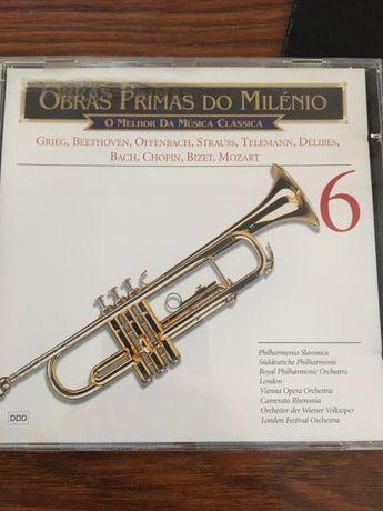 CD obras primas do milénio