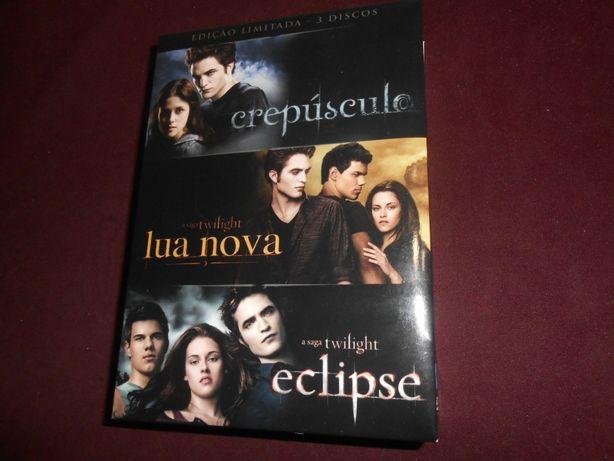 A saga Twilight-Box com Três filmes