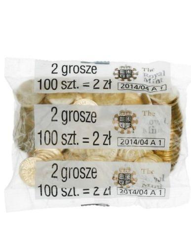 Monety 2 Gr Royal Mint Worek Menniczny