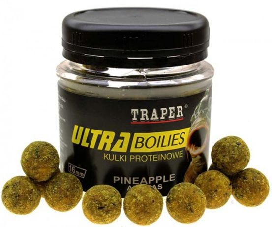 Traper kulki proteinowe ultra boiles 16mm tonące