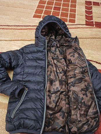 Куртка для хлопчика двостороння