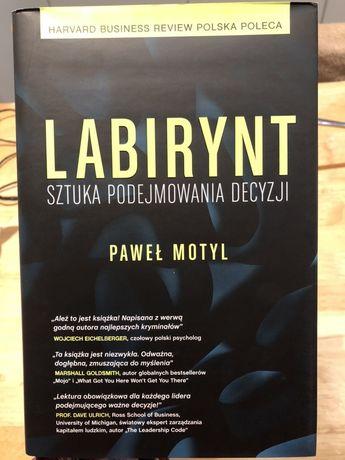 """""""Labirynt"""", Paweł Motyl - z autografem"""