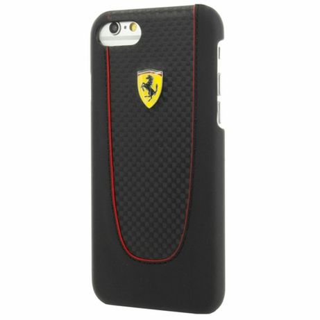 Etui FERRARI - Hard Case Pit Stop FEPIHCP7BK - Iphone 7/8/SE 2020 Czar