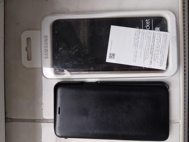 Samsung a6 plus z oryginalnym etui od samsunga