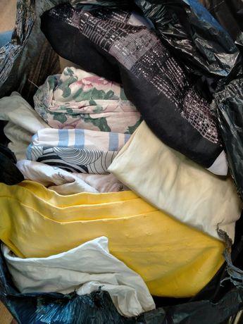 Секонд хенд микс (постельное, полотенца, скатерть, шторы)