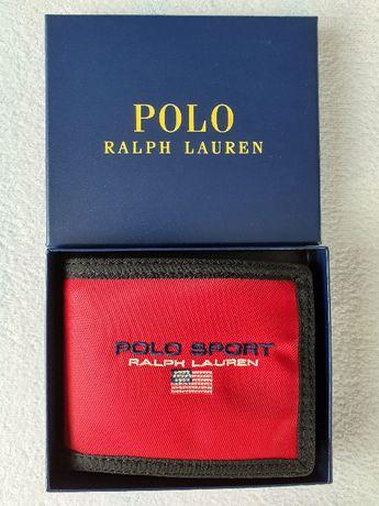 Portfel Polo Ralph Lauren oryginalny + pudełko