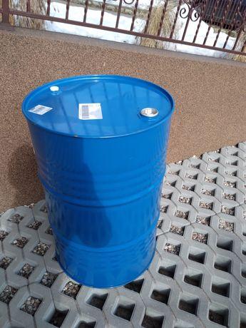 Beczka  metalowe 200 litrowa, praktycznie nowa.