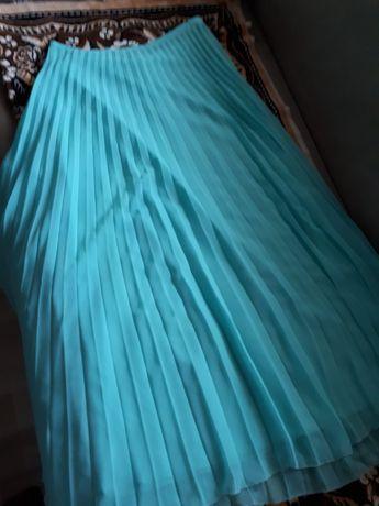 Юбка шифоновая плисерована