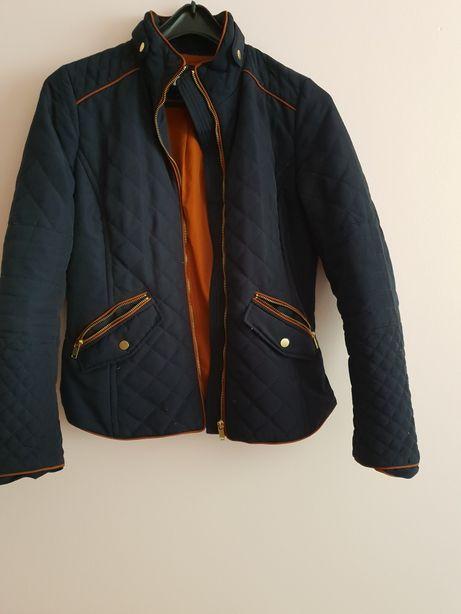 H&M pikowana kurtka damska wiosna lato S/M 38