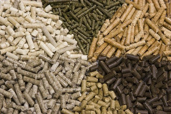 Гранулы Пелеты древесные и дробления корма для животных