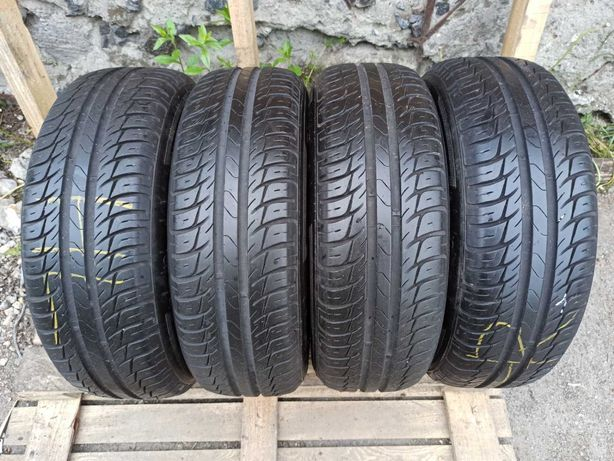 Kleber 195/60r15 комплект лето резина шины б/у склад