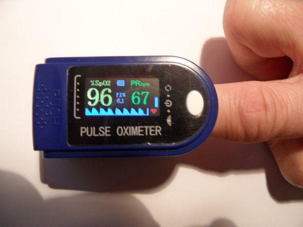 pulsometr na palec pulsoksymetr napalcowy