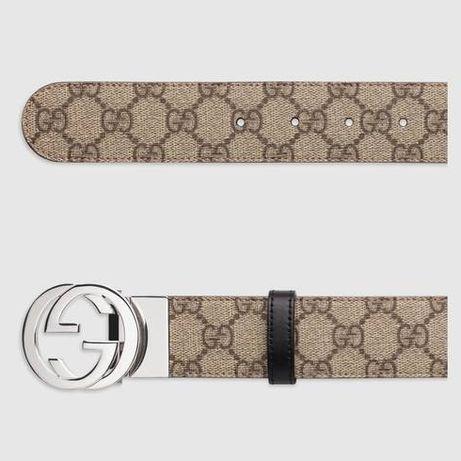 Gucci Pasek GG reversible Supreme belt