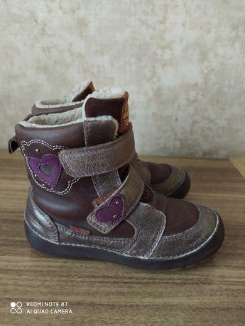 Зимние ботинки D.D.step на девочку р.28