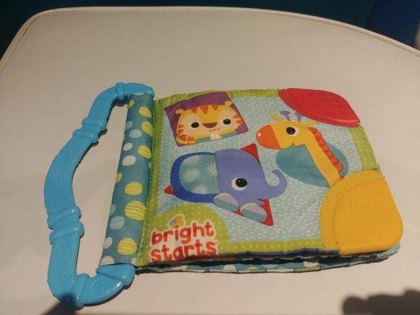 Książeczka dla niemowląt materiałowa Bright Stars