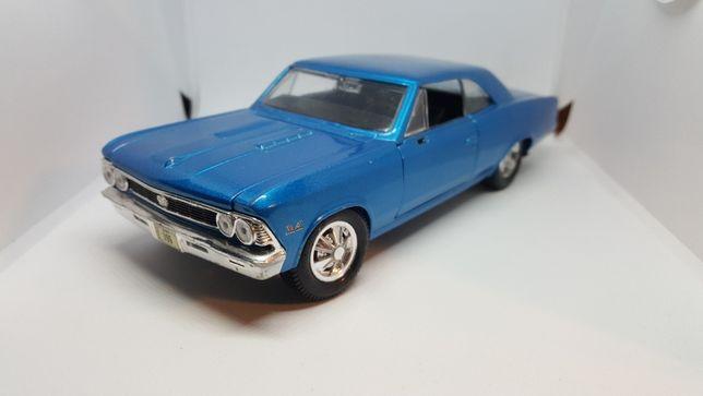 1966 Chevrolet Chevelle SS396 1:24 model autko resoraki