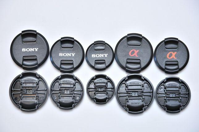 Передняя крышка объектива Sony Alpha 40.5mm/49mm/55mm НОВОЕ