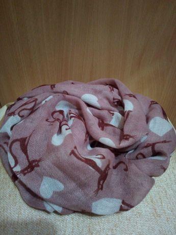 шарфы, шарфики разные