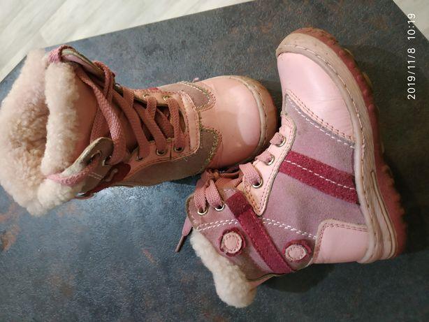 Зимние сапожки, зимові чобітки, размер 24 розмір