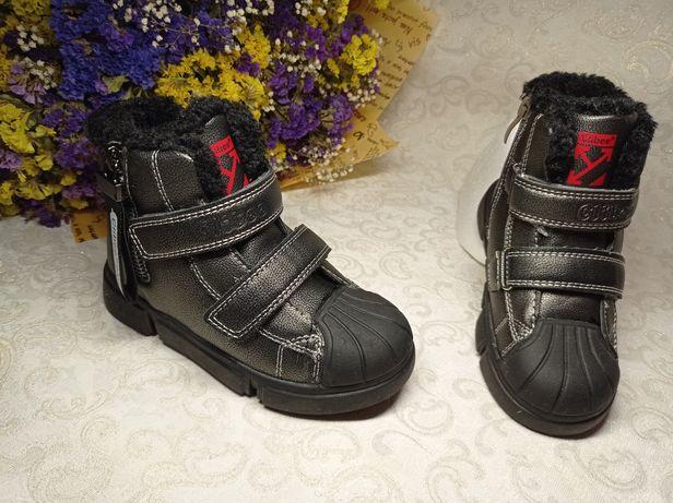 Стильные качественные зимние ботинки clibee