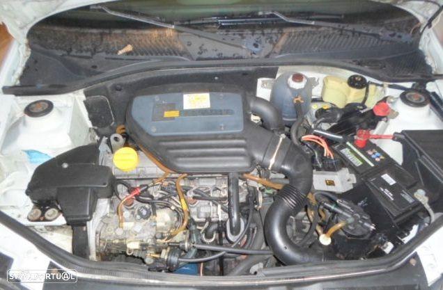 Motor Renault Clio II Kangoo 1.9d 65cv F8Q F8Q630 F8Q632 F8Q662 Caixa de Velocidades Arranque