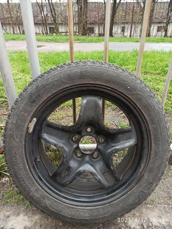 Запаска колесо R17 шина 215/55 на новом диске DIA 67.1 5X114.3