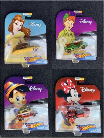 Mattel Disney Character Pinokio, Bella, Peter Pan