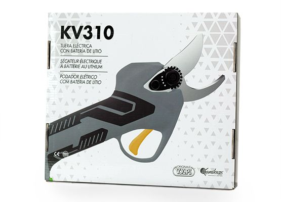 Tesoura bataria eléctrica - Volpi - SEM CABO - Volpi Kamikaze KV 310