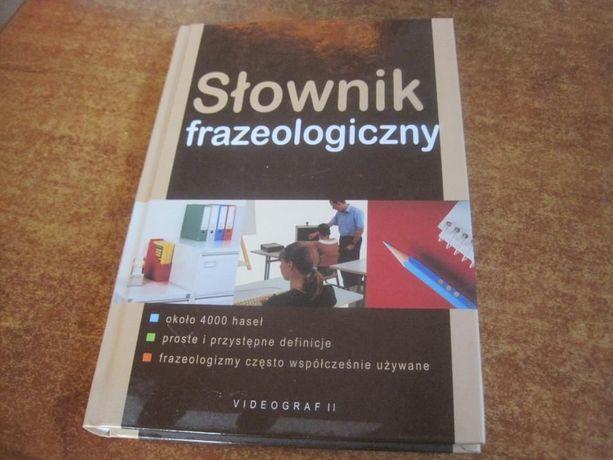 Słownik frazeologiczny VIDEOGRAF sztywna okładka jak NOWY
