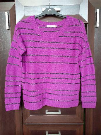 Sweter w kolorze fuksji