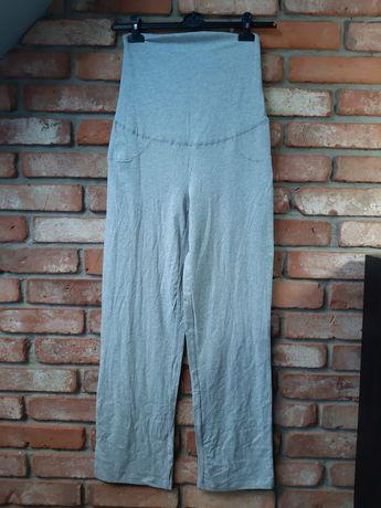 Nowe z metką spodnie dresowe ciążowe siwe szare Esmara roz. 36 S