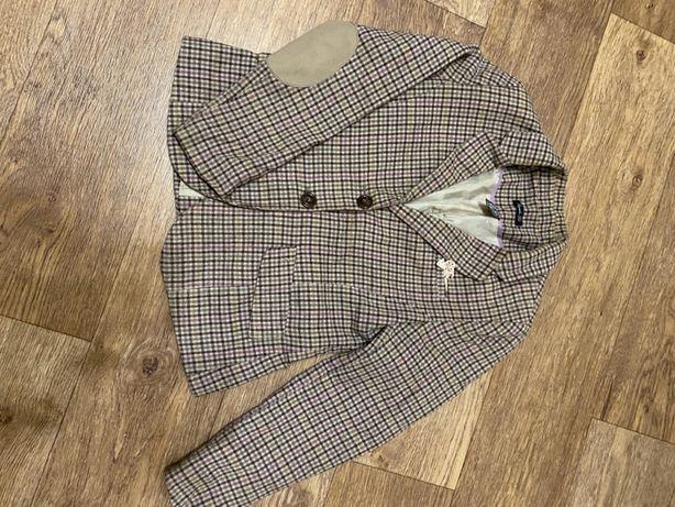 Срочно!Пиджак стильный фирменный школьный