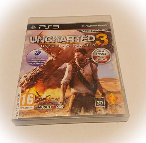 Uncharted 3 na ps3 - jak nowa