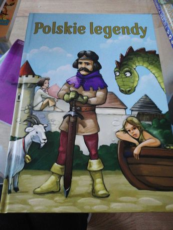 Polskie legendy, tajemnice Merlina i kilka innych książek