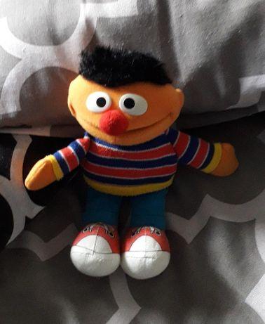 Maskotka pluszak Elmo na prezent tani dla dziecka ULICA SEZAMKOWA