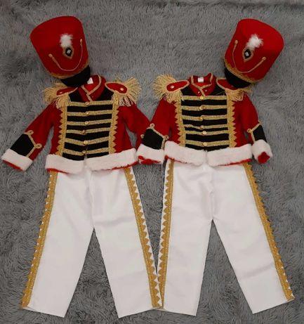 Карнавальный костюм Гусара (ГУСАР) на мальчика 4-7лет двойня, близнецы