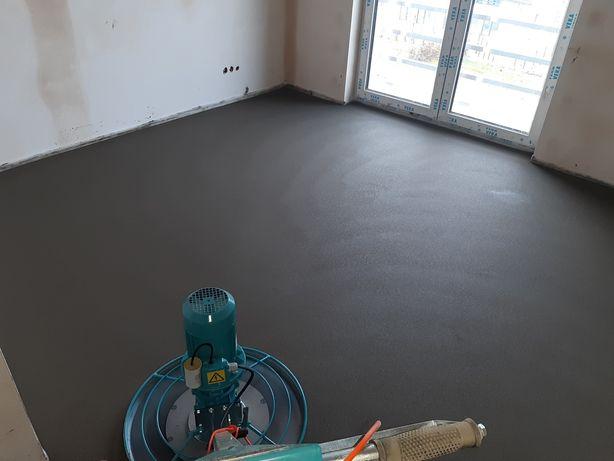 POSADZKI wylewki maszynowe betonowe mixokret