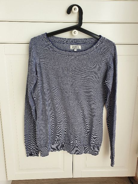 Reporter sweter w paski XL